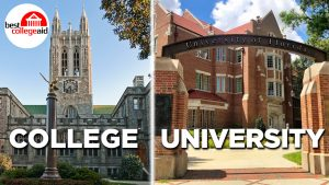 College vs University Best College Aid