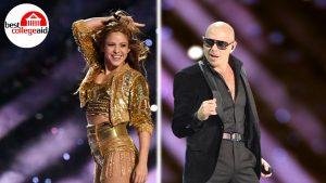Pitbull y Shakira Best College Aid logo