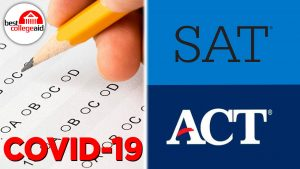 Covid-19 SAT ACT Test Multiple Choice Best College Aid Logo