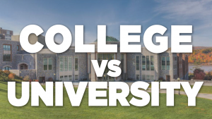 Difference Between a College & University Best College Aid