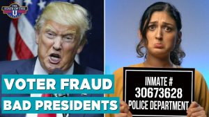 Voter Fraud and Bad Presidents Donald Trump Laura Cantu The State of the U