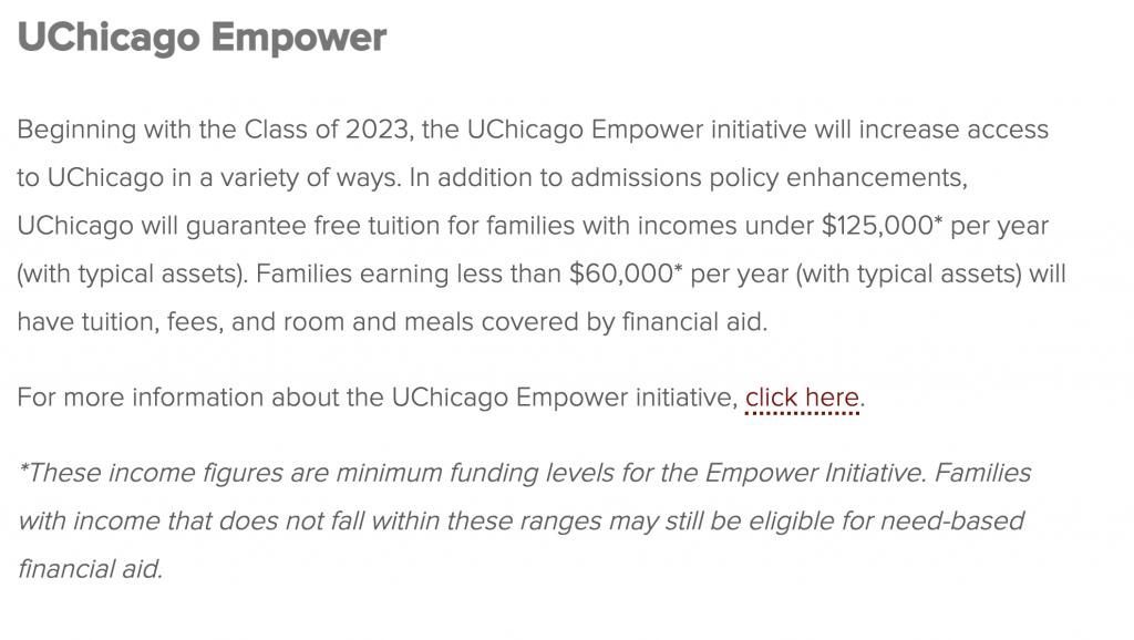 Uchicago empower initiative