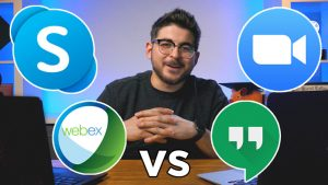 Zoom vs Google Meet vs Webex vs Skype | Which One Is The Best For You?