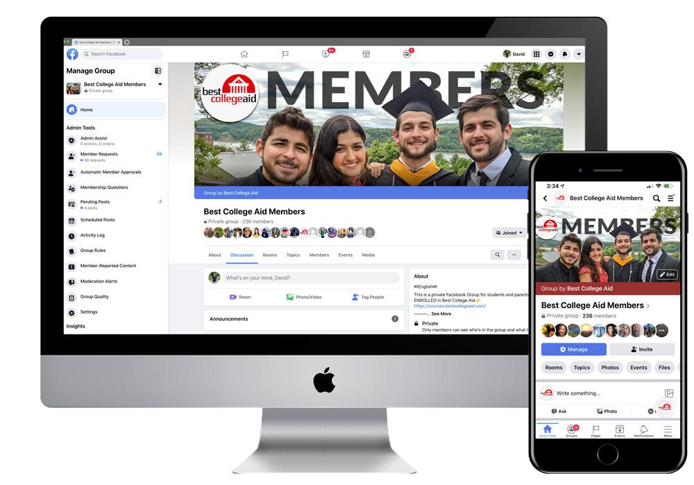 Best College Aid Facebook Members Group